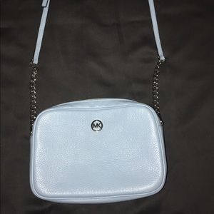 Michael Kors Jet Set Large Crossbody -Powder Blue